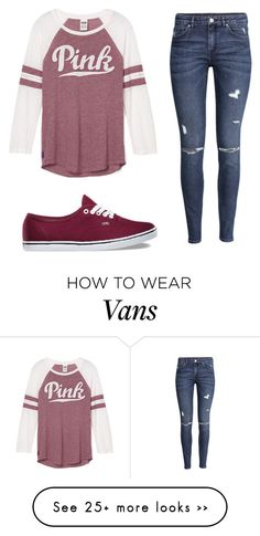 """Name Contest"" by kayleecat124 on Polyvore featuring мода, H&M и Vans"