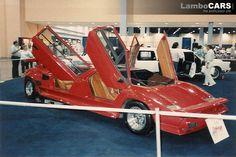 Lamborghini Countach limousine