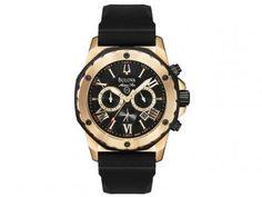 Relógio Masculino Bulova WB 30873 P - Analógico Resistente à Água  Cronógrafo Relógios Masculinos, Presentes 4684d1e363