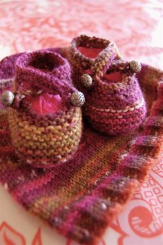 Hat and baby booties
