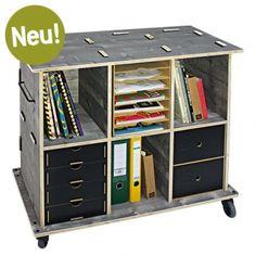 Werkhaus Shop - Werkbox Mobil 3x2 - Dreischicht (ohne Module)