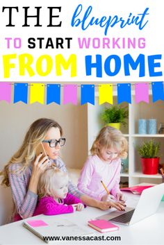 In the Vanessa Cast's Online School you will find a clear strategy to start making money from home for the very beginning. Stay At Home Mom, Work From Home Moms, Make Money From Home, How To Make Money, Home Based Business, Online Business, Business Ideas, Professional Goals, Dear Mom