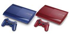 Además de su consola blanca edición especial que próximamente estará disponible (ya está en preventa) en Estados Unidos y México con diferentes Bundles, Sony lanzará en Japón y Europa ediciones en colores azul y rojo del PlayStation 3.