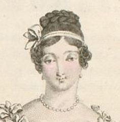 1817 Abendfrisur