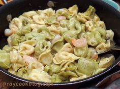 Tortellini and Shrim