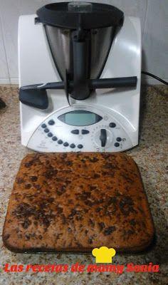LAS RECETAS DE MAMY SONIA: BIZCOCHO CON TROCITOS DE CHOCOLATE EN THERMOMIX