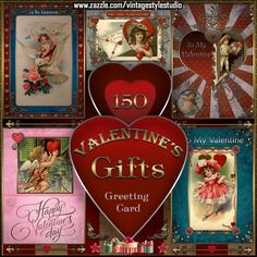 Check out all of the amazing designs that Vintage Style Studio has created for your Zazzle products. Make one-of-a-kind gifts with these designs! Valentine Day Cards, Valentine Day Gifts, Vintage Style, Vintage Fashion, Valentine's Day Greeting Cards, Best Gifts, Shop, Design, Art