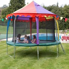 10ft Princess Tr&oline Tent | tr&olene tent | Pinterest | Tr&oline tent Tr&olines and Tents & 10ft Princess Trampoline Tent | trampolene tent | Pinterest ...