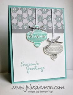 Each month, my Stamp of the Month Club members get a new Clear Mount stamp set and three completely finished, hand-stamped cards in the ma...