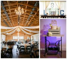 4.25.15 Lynette + Chris - Up the Creek Farms - Crystal and Crates Vintage Rentals sewing machine base table