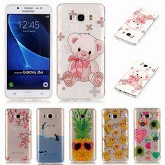 For Fundas Samsung Galaxy J5 2016 Case Silicone Transparent Phone Case for Samsung J5 2016 TPU Case J510 J510f J5 6 Cover Case