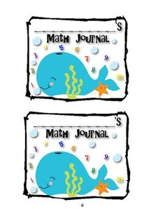 Ocean Themed Classroom Labels