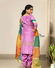 @manidrehar❤ Punjabi Wedding Suit, Punjabi Suits Party Wear, Punjabi Salwar Suits, Wedding Suits, Wedding Lehnga, Embroidery Suits Punjabi, Embroidery Suits Design, Indian Embroidery, Designer Punjabi Suits