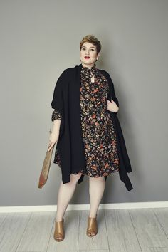 If you look in the right places, you will end up with great plus size complete outfits for everyday wear. We gathered some of the best plus size complete outfits one can find. Fat Fashion, Moda Fashion, Curvy Fashion, Fashion Looks, Fashion Tips, Fashion 2017, Womens Fashion, Plus Size Inspiration, Mode Inspiration
