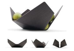 Lorea Bowl [source]  Inspired by the art of origami, the Lorea fruitbowl is a simple design with great aesthetics. Three different finishe...