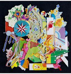 "35°41'22"" N - 139°41'30"" E  Alt: 6 273 km  - 2014 - paper-art, paper-cut Shenzhen - 2016 - ""Feast of Art Paper"" http://v.youku.com/v_show/id_XMTg4Mzk3NDE4MA==.html"