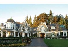 I got lost just LOOKING at the floor plan! Elevation of Coastal Farmhouse House Plan 87642 Victorian House Plans, Victorian Farmhouse, Craftsman Style House Plans, Victorian Homes, Craftsman Exterior, Wraparound Porch House Plans, Craftsman Windows, Craftsman Houses, Villa Design