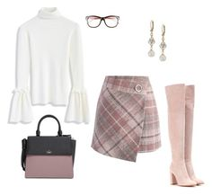 Updated 60's Mod style! by stylebyjonathan on Polyvore featuring Chicwish, Gianvito Rossi and Kate Spade
