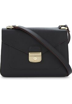 LONGCHAMP - Le Pliage Heritage leather shoulder bag | Selfridges.com