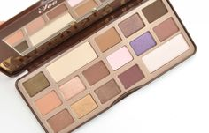Too Faced Chocolate Bar Eye Palette, chocolate eyeshadow, canadian beauty blogger #toofaced
