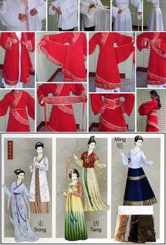Hanfu+-+Ruqun+and+Shenyi.jpg (550×812)