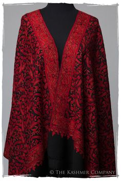 The Passion Ignited Shawl