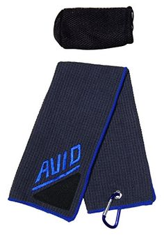 Golf Towel With Brush GrayBlue ** Check out the image by visiting the link. Note:It is Affiliate Link to Amazon.