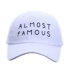 Almost Famous Tumblr Inspired Embroidered Baseball Cap Baseball Hat Yunglean Hat…