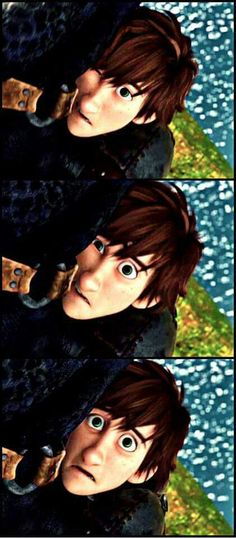 Hiccup ^.^ ♡ Kudos to whoever made this photo edit