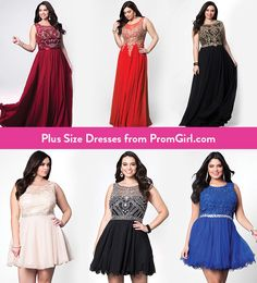 Shine like a Prom goddess in one of our amazing Prom 2017 Plus styles - only on PromGirl.com!