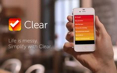 Clear iPhone-App - Looks great!