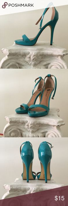 bea97505789cb 17 Best Teal Wedding Shoes images in 2016 | Teal wedding shoes ...
