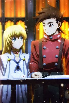 Tales of Symphonia - Collete y Lloyd