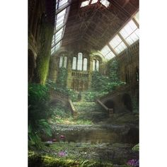 St Dunstan-in-the-East EC3R via Polyvore