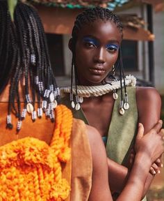 """iamdasidy: """" The young and restless for hunger magazine Styled by me. Black Girls Hairstyles, Afro Hairstyles, American Hairstyles, Black Power, Brown Skin Girls, Black Girl Aesthetic, How To Pose, African Beauty, Beautiful Black Women"""