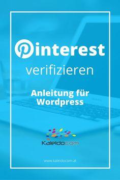 Wie Sie in WordPress mit einfachen Schritten Pinterest verifizieren? Wir zeigen wie das geht. So können Sie Rich Pins und Pinterest Analytics nutzen.
