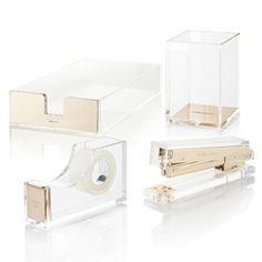 Attractive Designer Stapler And Gold Office Supplies