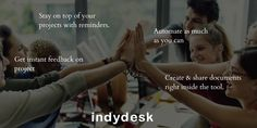 is a buzzword in the world. And with good reason. Plan projects, prioritize to-dos and delegate tasks of Try Indydesk and manage your entire team funnel. Prioritize, Growing Your Business, Collaboration, Software, How To Plan, Hot, Projects, Log Projects, Blue Prints