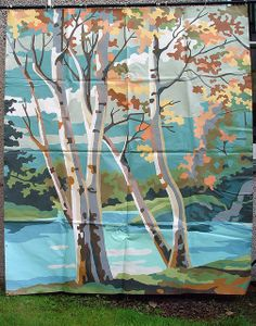 Great Paint By Number Backdrop1 By Jo David, Via Flickr