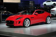 Jaguar F-Type coupe from the L. Auto Show Fancy Cars, Cool Cars, Best New Cars, New Porsche, Jaguar F Type, Subaru Legacy, Mercedes Benz Amg, Sweet Cars, Concept Cars