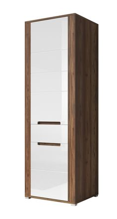 Esszimmer Highboard In Weiss Eiche Massiv Glas