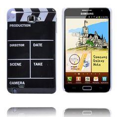 Movie Click-Board (Svart) Samsung Galaxy Note-Skal