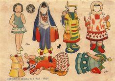 Recortables. Paper dolls 2 - Yakira Chandrani - Picasa Webalbum