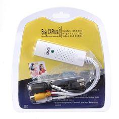 USB2.0 Video TV Tuner DVD Audio Capture Card Converter Record Receiver