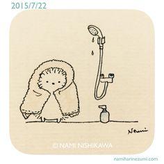 Hedgehog Art, Hedgehog Drawing, Cute Hedgehog, Kawaii Drawings, Easy Drawings, Hedgehog Illustration, Karten Diy, Kawaii Doodles, Pattern Wallpaper