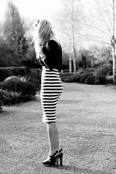 BLACK AND WHITE MONOCHROME OOTD http://www.mediamarmalade.com/