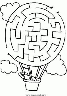 Labirent bulmaca sayfaları indir çıkart yazdır. Free maze worksheets printables site. лабиринты