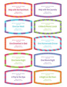8 best make your own coupons images on pinterest gift cards gift