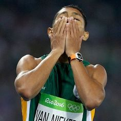 South African Wayde Van Niekerk smashed Michael Johnson towin 400 gold