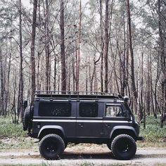 Land Rover Defender Camper Van